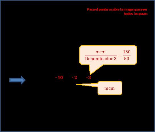 Sumas De Fracciones Con Distinto Denominador Ejemplos Compartir Ejemplos