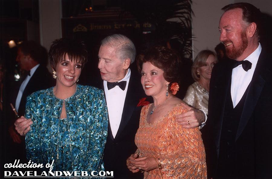 Liza Minnelli, Milton Berle, Shirley Temple and Jack Haley, Jr. photo