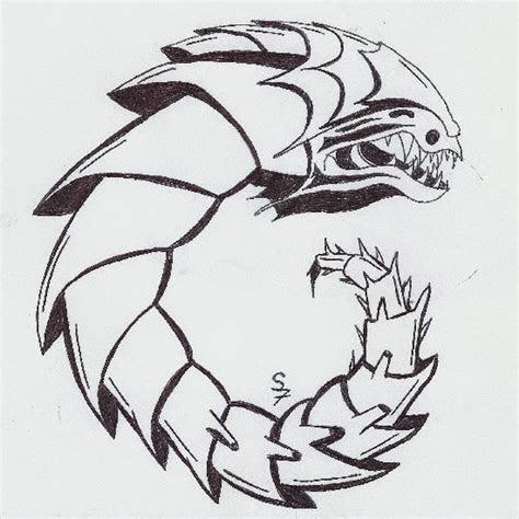 samwiserpg  bunch  weird monster drawings ii