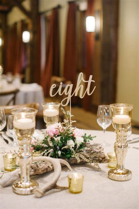 25  Best Ideas about Gold Table Numbers on Pinterest