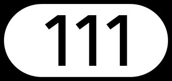 Deutsch: Schild der Landesstraße 111 in Österreich