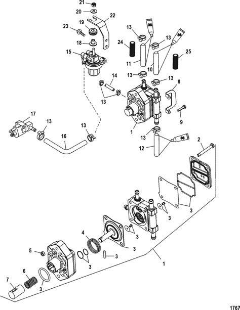 Mercury Marine 50 HP EFI (4 Cylinder) (4-Stroke) Fuel Pump