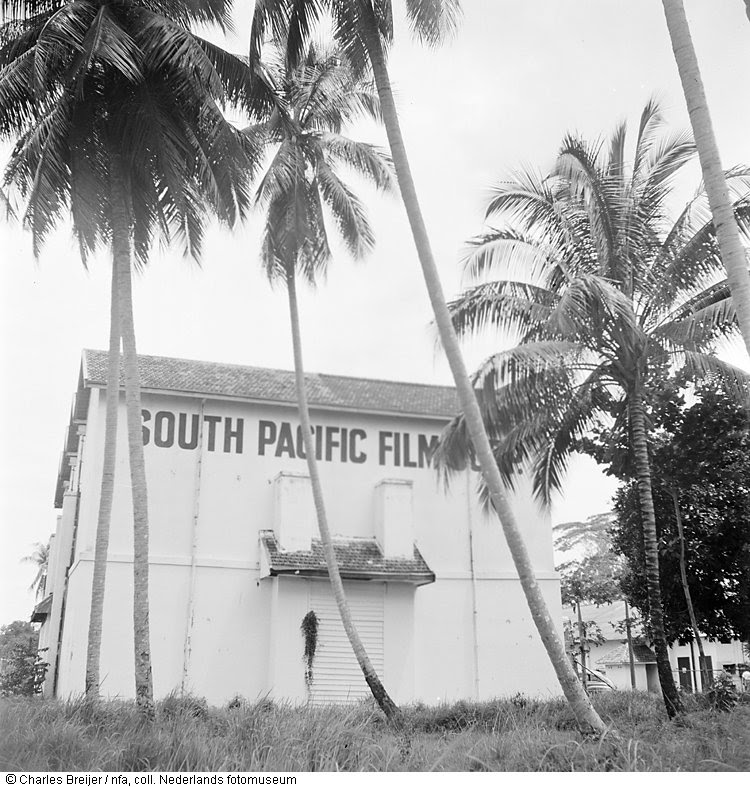 Studio van het Regerings Filmbedrijf in de voormalige wijk Mr. Cornelis te Jakarta, Indonesië (1947)