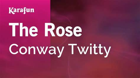 rose conway twitty karaoke version karafun youtube