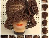 Crochet Hat Womens Hat, W...