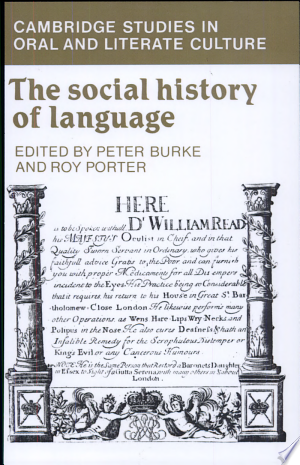 Read Online The Social History of Language PDF