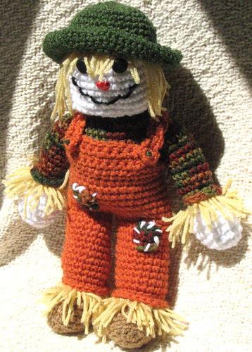 Crochet Scarecrow