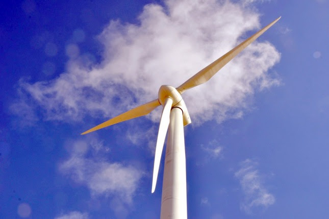 Resultado de imagen para construcción de un parque eólico en Miramar