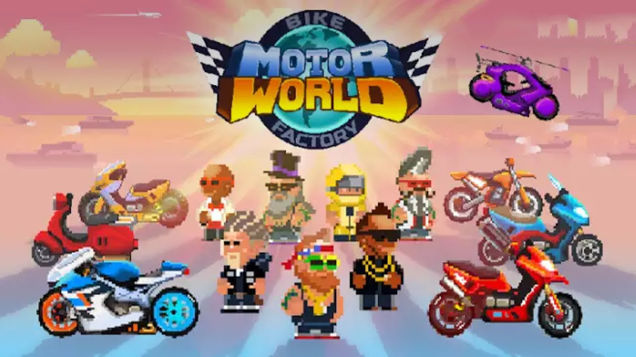 Tricks And Tips For Motor World Bike Factory App Cheaters