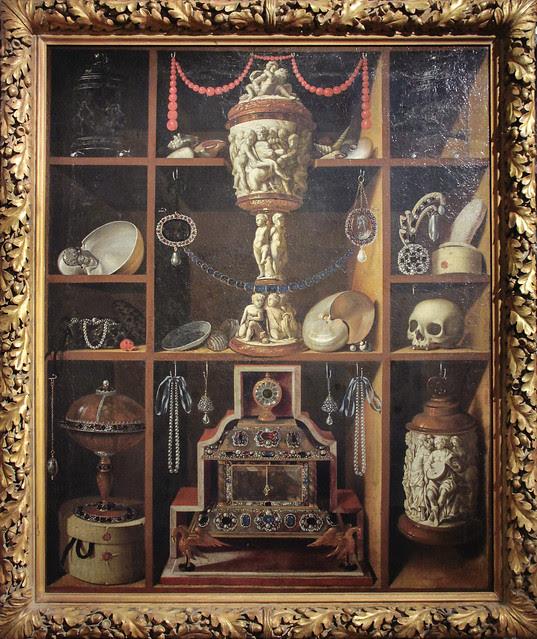 Cabinet of Curiosities - Johan Georg Hainz (1630-1688) c.1666