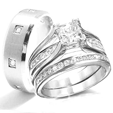 Wedding ring for man and woman