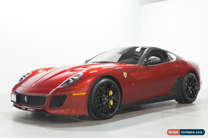 2011 Ferrari 599 for Sale in Canada