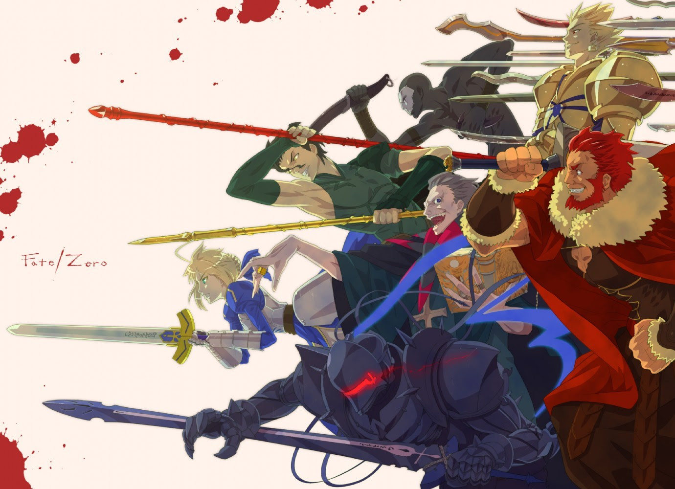 Fate Zero 壁紙 画像 Iphone スマホ待受画像 Nebigen