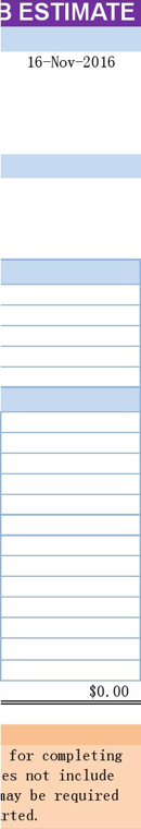 Blank Estimate Template - Download Free Forms & Samples for PDF ...