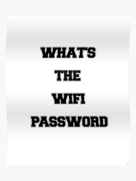 How can I get a WiFi password secretly?