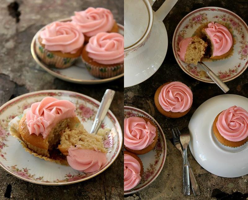 Eggless Vanilla Cupcakes 2