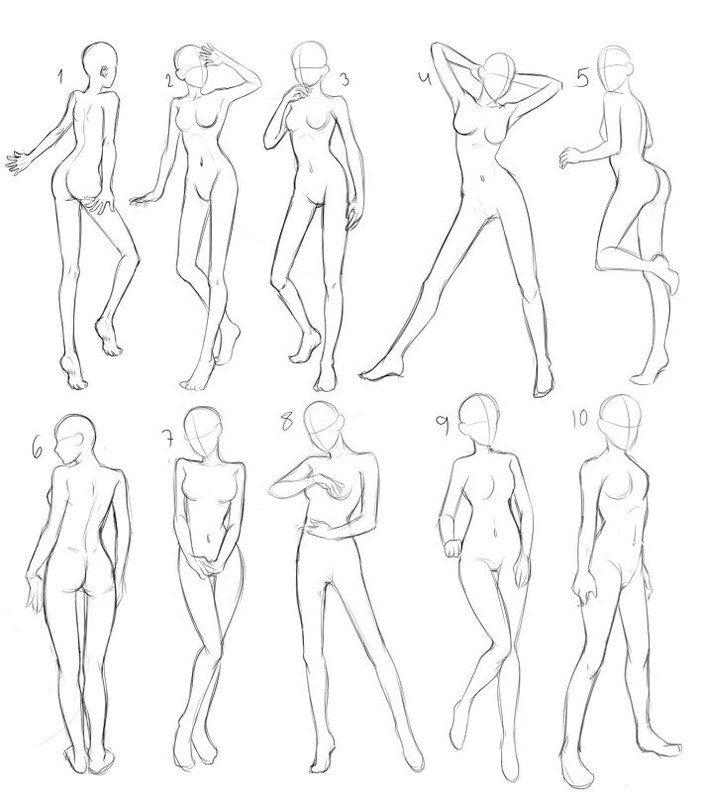 Anime Drawings Poses Ruang Belajar Siswa Kelas 3