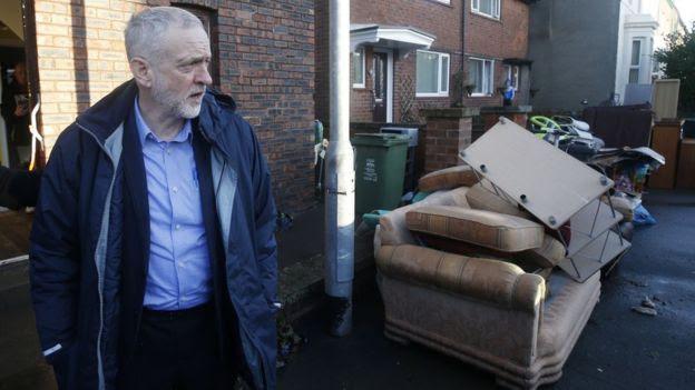 Jeremy Corbyn wear anorak