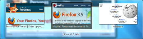 Firefox 3.6 - tab switching