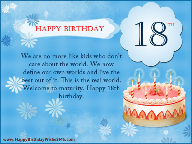 Quotes About 18th Birthday 32 Quotes