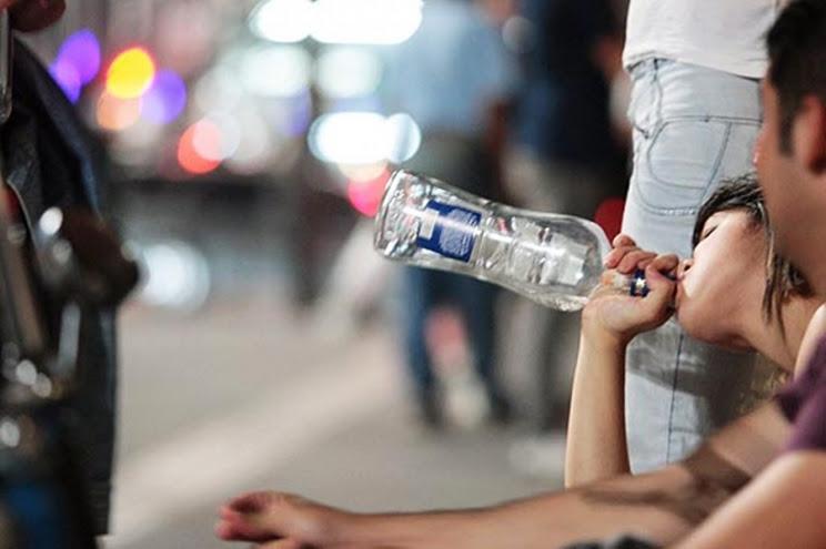 Álcool é o combustivel da violência