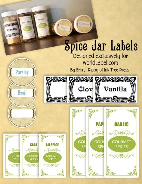 spice jar labels | Worldlabel Blog
