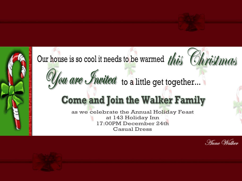 Christmas Greetings For Host Family Xmast 4