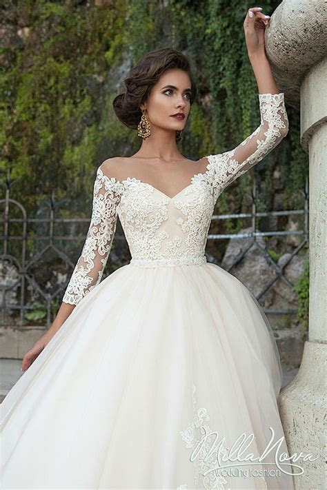 MILLA NOVA 2016 WEDDING DRESSES www.elegantwedding,ca