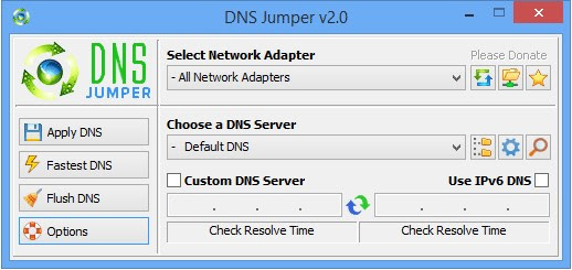 Download DNS Jumper 2.0 Terbaru