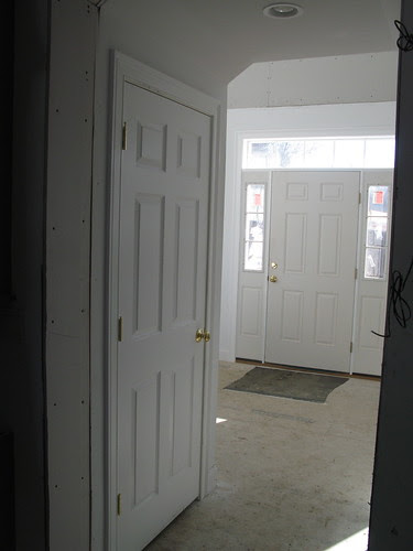 Looking from kitchen to front door.