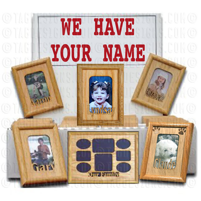 Picture Frame Personalized With Your Name