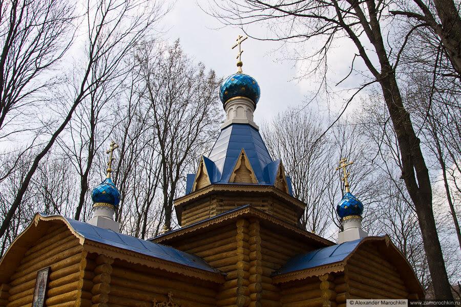 Церковь иконы Божьей Матери Афонская в Макаровском монастыре Саранск