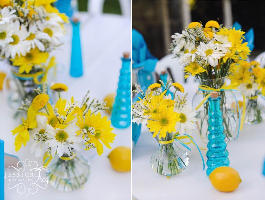 Jon Lindsey Blue Yellow Wedding Austin Wedding Photographer