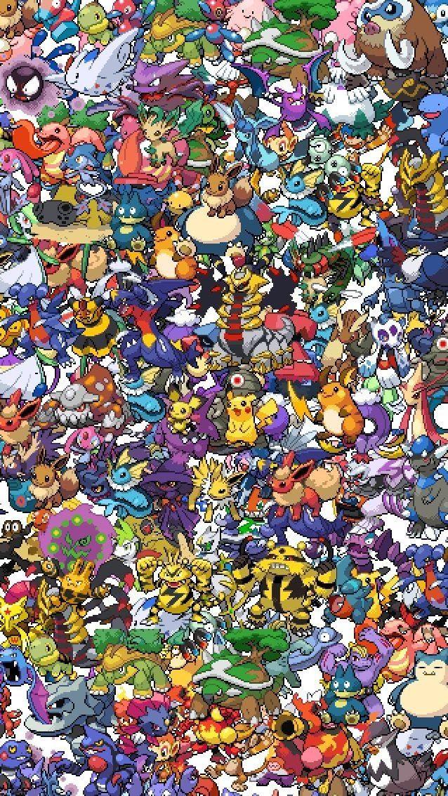 Pokemon Phone Wallpapers  WallpaperSafari