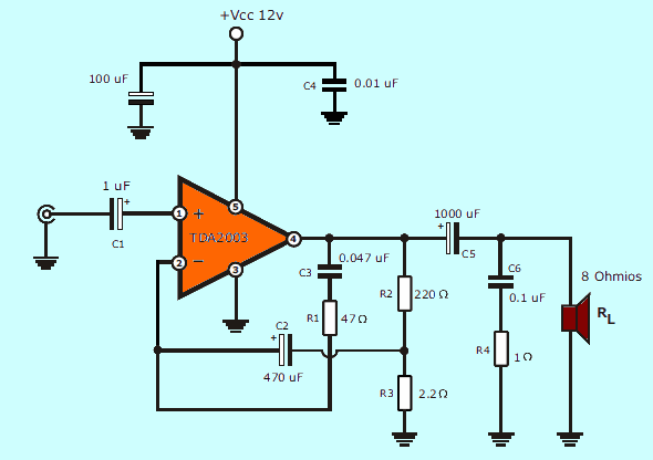 Jrc 4558 Preamp Circuit Diagram