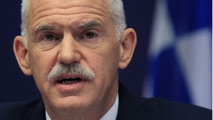 PM Papandreou on 27 October