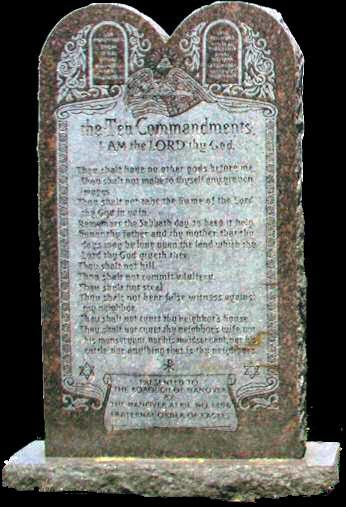 The Ten Commandments - The Lord thy God shalt thou adore, and Him only shalt thou serve