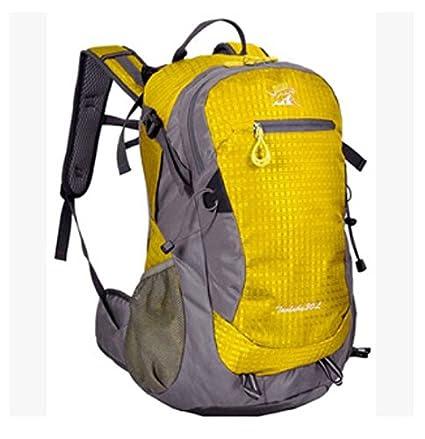 GW Alpinismo Mochila 30L paquete de turismo mochila de senderismo en bicicleta de montaña , Yellow