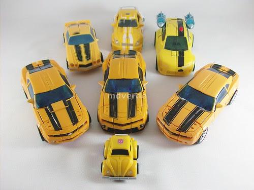 Transformers Bumblebee modo alterno