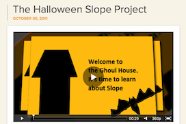 Halloween-Slope