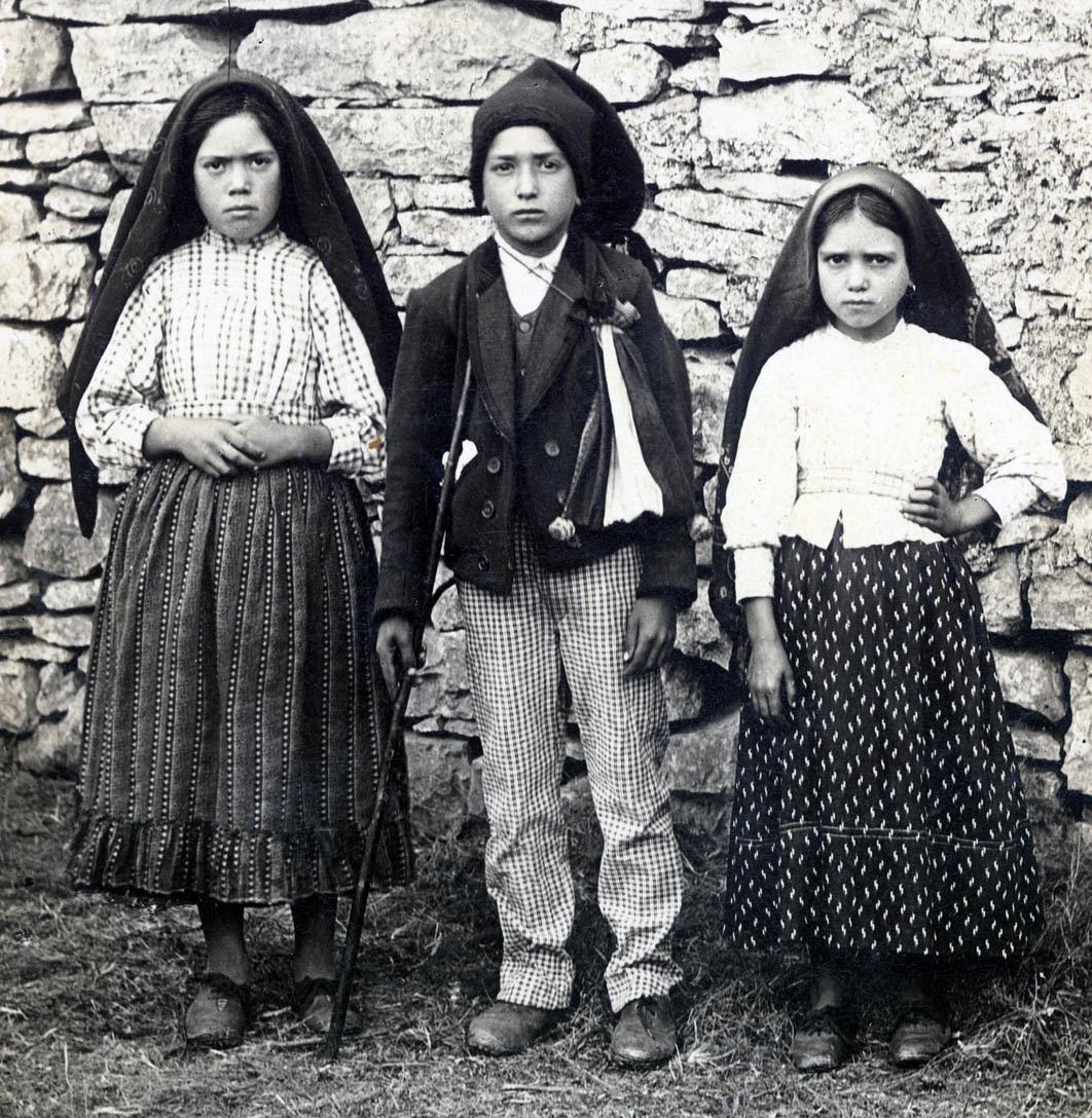 Niños de Fátima - Lucía dos Santos, Francisco y Jacinta Marto