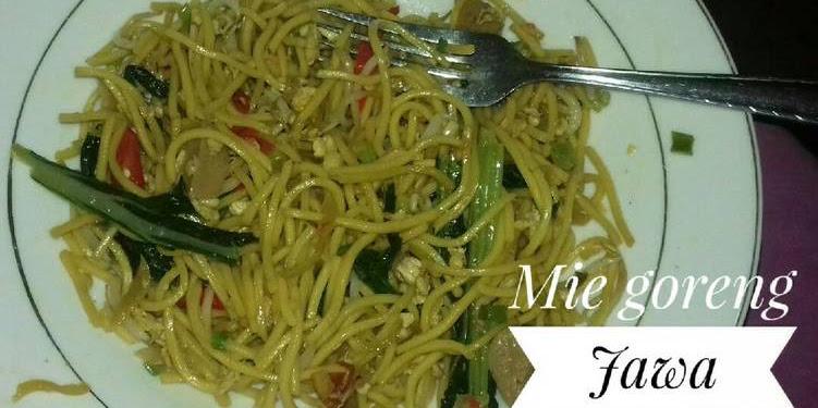 Resep Mie (Goreng) Jawa Dapur Mbeb Oleh Mamake Abin