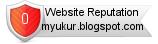 Rating for myukur.blogspot.com