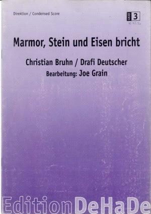 Marmor Stein Und Eisen Bricht Text Zum Geburtstag