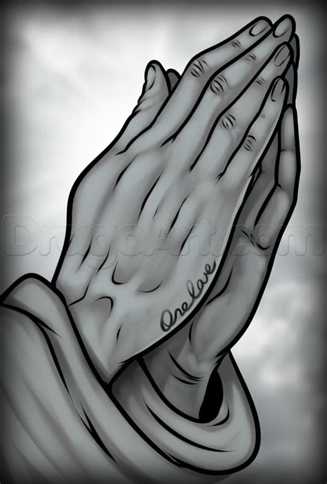 draw praying hands tattoo step step tattoos