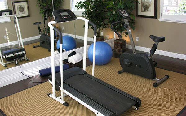 Home Exercise Rooms - House Plans and More