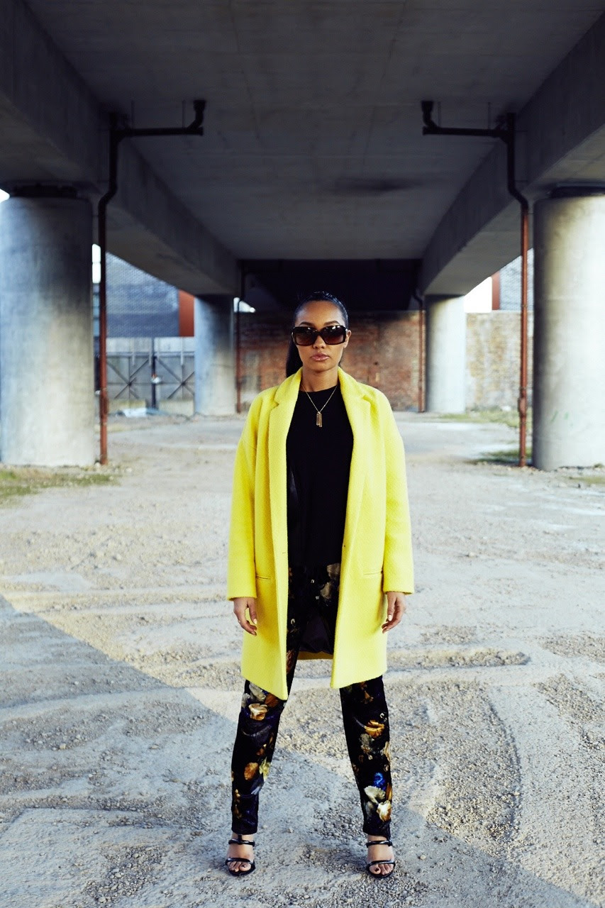 A Pop of Yellow   Bringing some colour to the over pass! LeighLoves saying hello to the Spring months with this bright yellow stand out over coat.  Stand out from the crowd in bold, bright colours this spring.   Over Coat- River island  Top- Top Shop Trousers- River Island  Shoes- Kurt Geiger  Sunglasses- Chanel