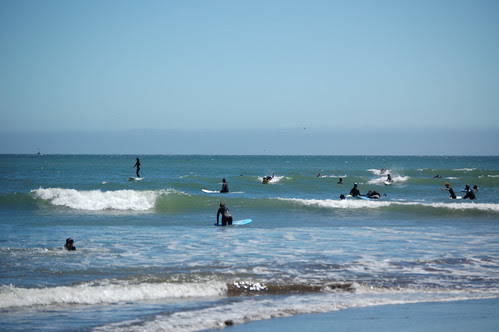 Lots of surfers by blmurch.