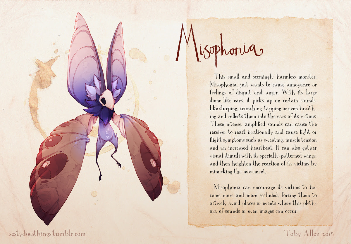 If Mental Illnesses Were Monsters, Here's What They'd Look ...