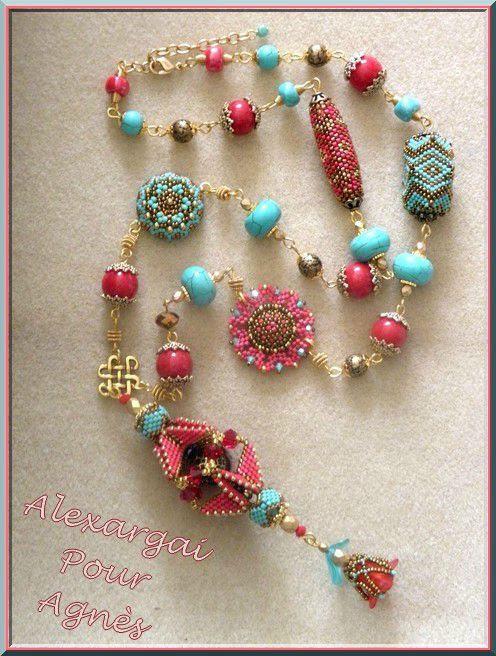 Nice beaded beads